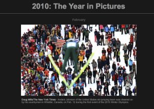 "Skispringer - Foto in Zeitleite ""2010 The Year in Pictures"""