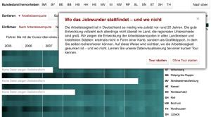 zeit online interaktiv Arbeitslosigkeit