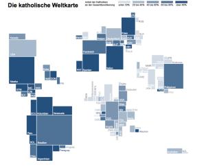 Die katholische Weltkarte