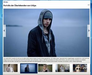 Porträtfotos der Überlebenden von Utöya tagesschau.de