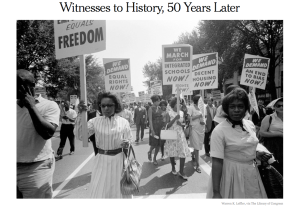 Witnesses to History, 50 Years Later